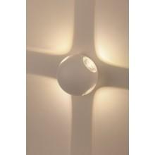WL10 WH Светильник ЭРА Декоративная подсветка светодиодная ЭРА 4*1Вт IP 54 белый (20/400)