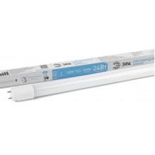 LED T8-24W-840-G13-1500mm ЭРА (диод,трубка стекл,24Вт,нейтр,пов. G13) (25/875)