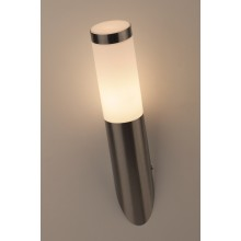 WL18 Светильник ЭРА Декоративная подсветка 27 MAX60W IP54 хром/белый (20/300)