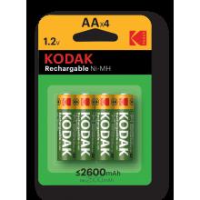 Kodak HR6-4BL 2600mAh [KAAHR-4] (80/640/15360)
