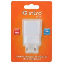 СС105 USB зарядки_25 Intro Зарядка сетевая 1 USB, 1A (100/200/3200)