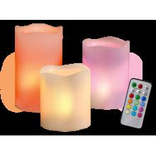Свеча светодиодная CL3-RGB-SET3