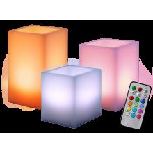 Свеча светодиодная CL3-RGB-SET3S