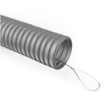 Гофра ПВХ ЭРА (серый) ПВХ d 20мм с зонд. легкая 100м (15)