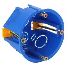 ЭРА Коробка установочн. КУП 68х45мм для полых стен саморез. пласт. лапк. синяя IP30 (200/2400)