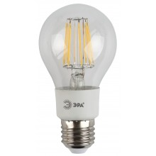 F-LED A60-5W-827-E27 ЭРА (филамент, груша, 5Вт, тепл, Е27) (10/50/1200)