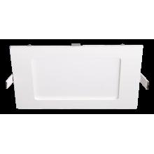 Светильник встраиваемый квадр PPL - S белый 18w 6500K