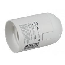 ЭРА Патрон Е27 подвесной, термостойкий пластик, белый (50/200/7200)