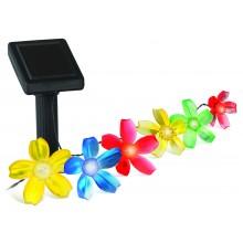 SL-PL400-FLW10 ЭРА Садовый светильник на солнечной батарее, пластик, цветной, черный, длина 400 см