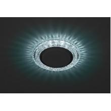 DK LD26 BL/WH Светильник ЭРА декор cо светодиодной подсветкой Gx53, голубой (50/800)