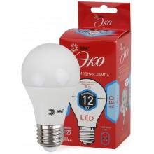 ECO LED A60-12W-840-E27 ЭРА (диод, груша, 12Вт, нейтр, E27) (10/100/1500)