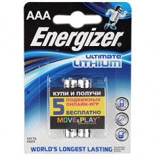 Energizer FR03-2BL L92 LITHIUM (2/24/8880)