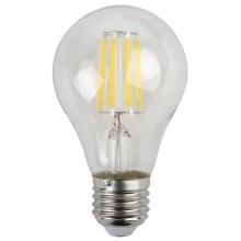 F-LED A60-9W-827-E27 ЭРА (филамент, груша, 9Вт, тепл, Е27) (25/50/1200)