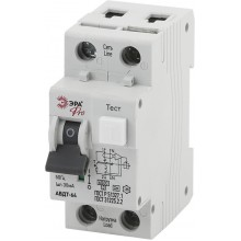 ЭРА Pro NO-901-84 АВДТ 64 C16 30мА 1P+N тип A (90/1620)