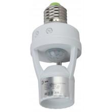 MD 015 Датчик движения ЭРА Датчик движения белый E27 60Вт 360гр 6м IP20 (50/1600)