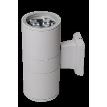 Светильник светодиодный PWL-245110/24D 2x9w  6500K  GR