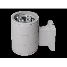 Светильник светодиодный PWL-145110/24D 1x9w  6500K  GR